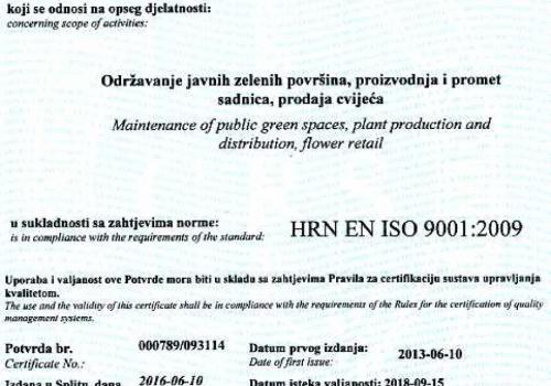 ISO standard 2018